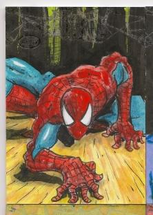 Spiderman Sketchcards Scans 019