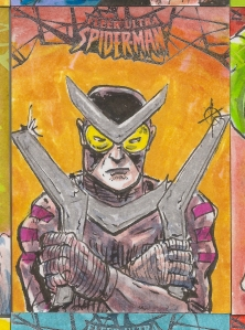 Spiderman Sketchcards Scans 023