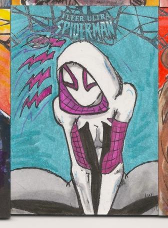 Spiderman Sketchcards Scans 026