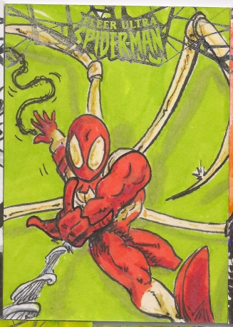 Spiderman Sketchcards Scans 029