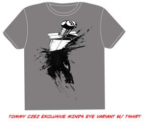 """RAVENOUS """"TAG"""" t-shirt design"""