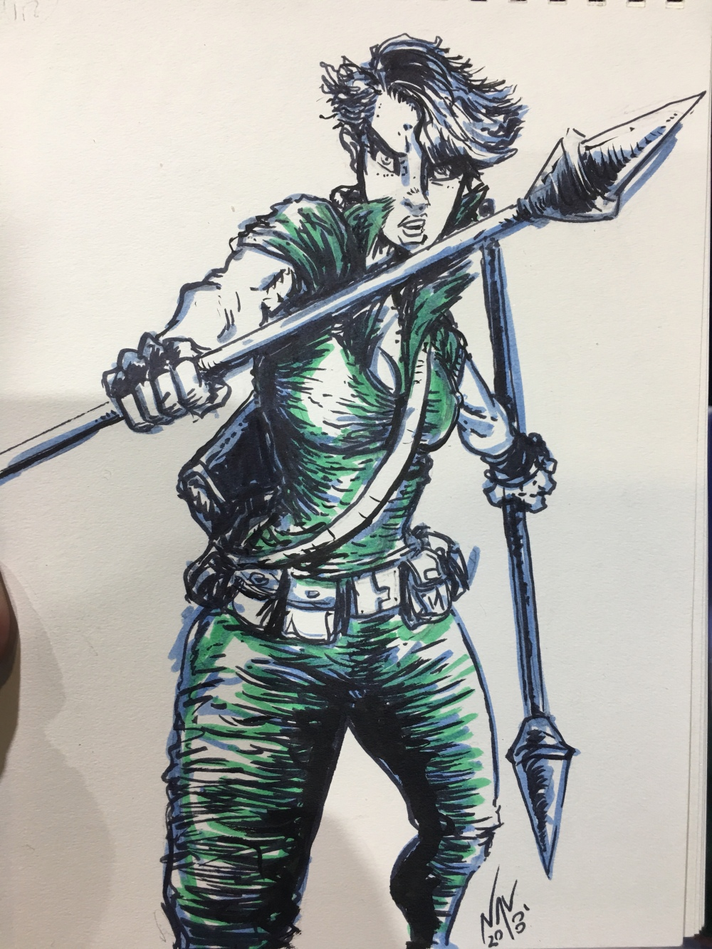 LADY JAYE - another character that caused early puberty