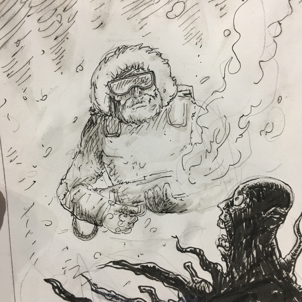 SNOW JOB : GIJOE x THE THING : big fun!