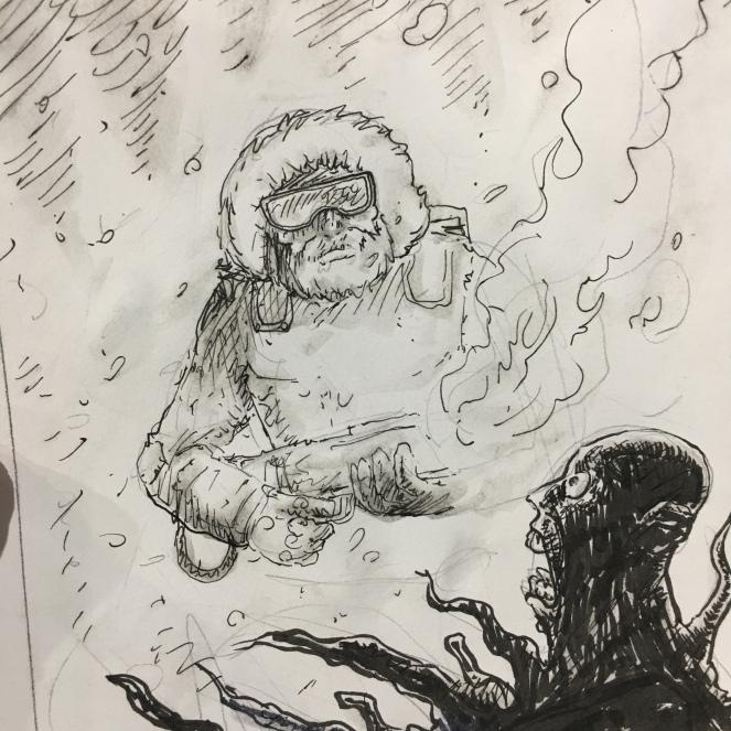 SNOW JOB : GIJOE x THE THING : big fun!